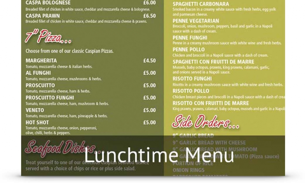 lunchtime-menu
